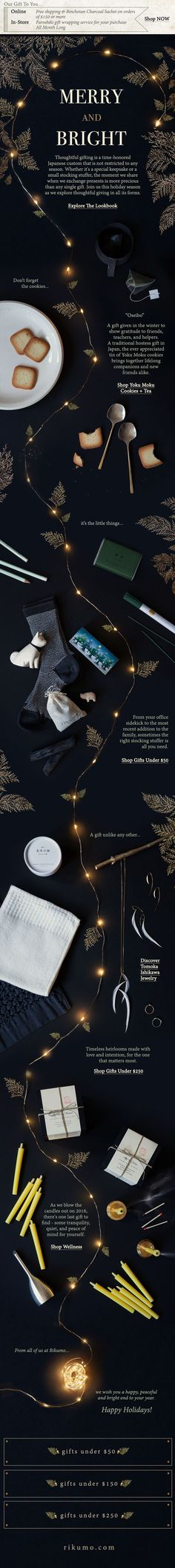 Here's 15 examples of great holiday email designs from brands that are totally nailing the holiday campaign game. Get inspired for your next email campaign. Email Layout, Web Layout, Layout Design, Website Layout, Email Marketing Campaign, Marketing Ideas, Holiday Emails, Web Design, Graphic Design