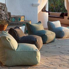 Outdoor Stage, Indoor Outdoor Living, Outdoor Dining, Outdoor Chairs, Indoor Rugs, Outdoor Furniture Australia, Bean Bag Living Room, Bali Style Home, Outdoor Bean Bag Chair