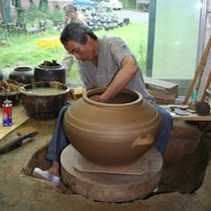 Lee Hak Soo Onggi master Bosong, Korea