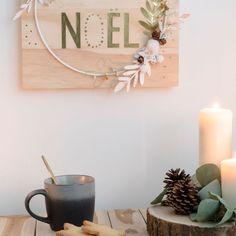 Déco de Noël bois : ambiance naturelle au rendez-vous - Côté Maison