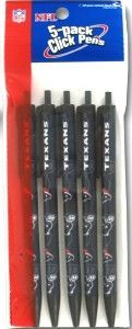 Houston Texans Click Pens - 5 Pack