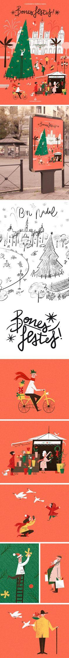 "Bekijk dit @Behance-project: ""Season's Greetings 2016"" https://www.behance.net/gallery/46242203/Seasons-Greetings-2016"