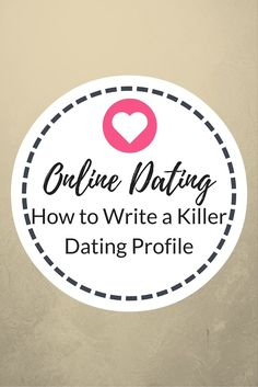 killer online dating profiles