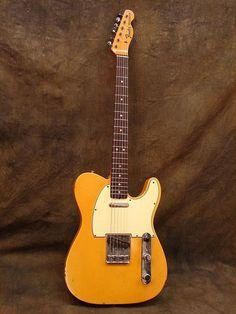 Vintage 1968 Fender Telecaster Guitar.
