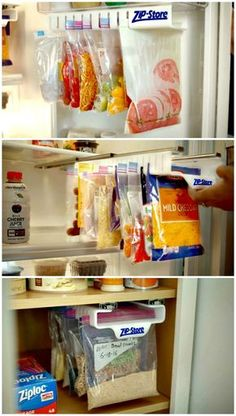 Zip n Store is a revolutionary food storage system that simplifies the way you store, organize and find your food!