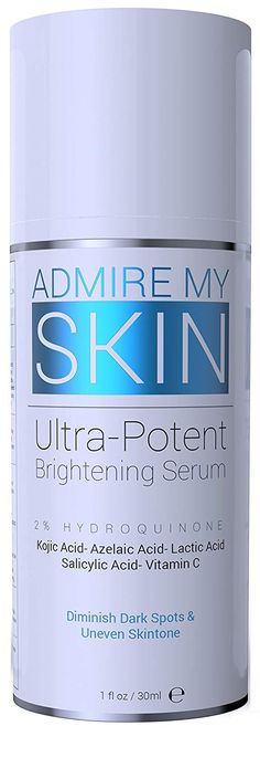 """List Price$39.95 Price : $19.55  You Save:$20.40 (51%)  ✅ 2% HYDROQUINONE - Helps brighten and fade dark spots, hyperpigmentation & melasma: The acids gently peel dark spots to reveal brighter skin: This product can be used either once OR twice per day ✅ OUR PROMISE TO YOU - We promise this OTC product will provide effective results within 4 weeks when used as directed: The directions on the product label says """"use once or twice daily"""""""