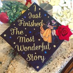 prom birrete 30 Graduation Caps That Are Borderline Genius Disney Graduation Cap, Graduation Cap Designs, Graduation Cap Decoration, Teacher Graduation Cap, Nursing School Graduation, Graduation Quotes, Graduation Ideas, Graduation Announcements, Graduation Invitations