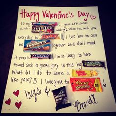 Easy diy valentines gift for him!