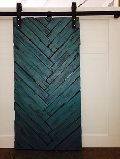 Chevron Barn Door by GOATGEAR. Handmade in Vernon BC