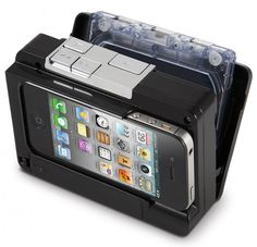 Cassette to mp3 for your iPhone. This looks so nice!