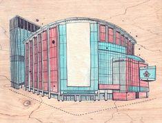Madison Square Garden, by James Gulliver Hancock