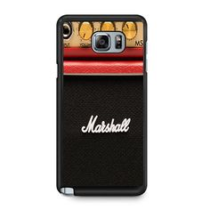 Amplifier Series Red Mini Samsung Galaxy Note 5 Case