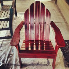 Adirondack Chair After!