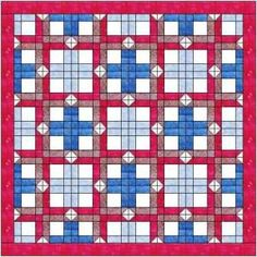 Box quilt pattern and tutorial from Ludlow Quilt and Sew