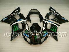 YAMAHA YZF-R6 1998-2002 ABS Verkleidung - Monster #yamahayzfr6verkleidung #r6verkleidung