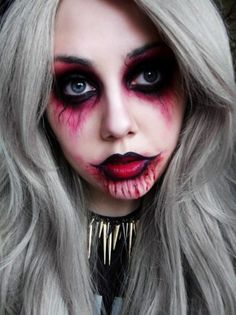 Scarecrow face paint for Halloween!! | General | Pinterest ...