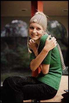 14 Linda McCartney Twiggy (1969)