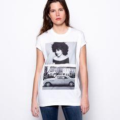 Afro Harlem Women's T-shirt!  #camiseta #mujer #girl #serigrafia #moda #sevilla #afro #harlem #coche #africana #pelo
