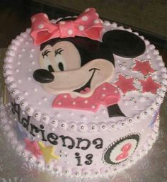... on Pinterest  Minnie mouse cake, 1st birthday cakes and Minnie mouse