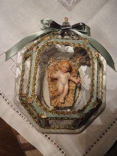 """Registo com Menino Jesus """" imagem antiga """" (coleção particular de Carlos Mendonça )"""