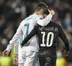 Real Madrid manager, Zinedine Zidane, has insisted both Cristiano Ronaldo and Neymar could play together in the same team. Although Zidane says there Real Madrid Cristiano Ronaldo, Real Madrid Vs Psg, Messi And Ronaldo, Psg Champions, Real Madrid Champions League, Neymar Jr, Zinedine Zidane, Psg Vs, Sergio Ramos