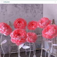 images attach d 1 133 333 How To Make Paper Flowers, Large Paper Flowers, Tissue Paper Flowers, Paper Flower Wall, Paper Flower Backdrop, Giant Paper Flowers, Diy Flowers, Fabric Flowers, Paper Decorations
