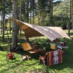 twing 焚火タープ テントマーク テンマク tent-mark