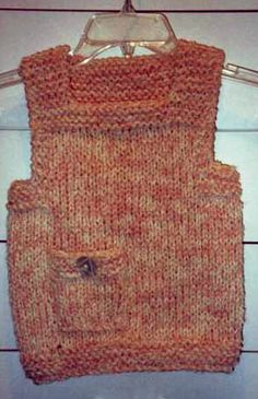 Knit Patterns for Vests, Free Knitting Patterns