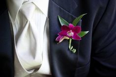 I love the contrast of navy suits with rich pinks and purples.