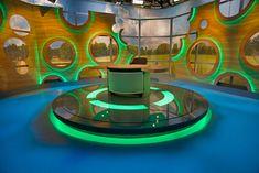 Set Design Tv Set Design, Stage Set Design, Stand Design, Virtual Studio, Web Studio, Tv Sets, Kids Tv Shows, Tv Station, Backdrops
