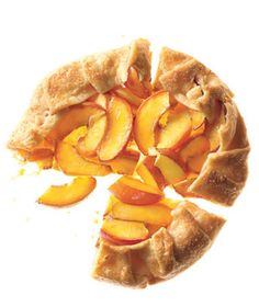 Nectarine Galette. I've cut sugar in half and used blueberries and peaches also. Quick and yummy! (and not too much!)