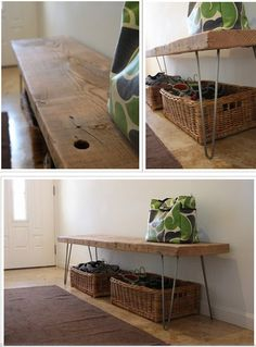 diy bench by recovergirl, via Flickr