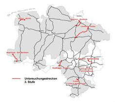 Reaktivierung von Bahnstrecken | Nds. Ministerium für Wirtschaft, Arbeit und Verkehr