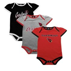 Infant Arizona Cardinals White 2-Pack Bib Set