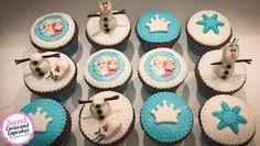 Sweet Cucas and Cupcakes by Rosângela Rolim: Cupcakes Decorados Tema Frozen