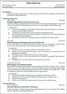 professional sales resume examples of resumes vmore info about    sample of professional resume templates   google search