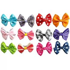PET SHOW Bowknot Pet Dog French Barrette Hair Bows Clips Puppy Grooming Hair Accessories Pack of 10 * You can find more details by visiting the image link. (This is an affiliate link and I receive a commission for the sales) Dog Hair Bows, Bow Hair Clips, Hair Barrettes, Small Dog Clothes, Pet Clothes, Puppy Grooming, Pet Dogs, Pets, Pet Puppy