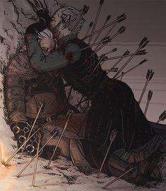 The Witcher Game, The Witcher Geralt, The Witcher Books, Witcher Art, Witcher Wallpaper, Wild Hunt, Fantasy Artwork, Pretty Art, Dark Fantasy
