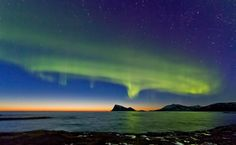 Sunset and Auroras by Frank Olsen on 500px