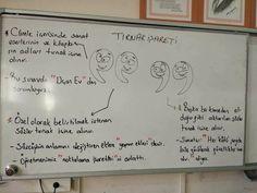 Noktalama İşaretleri Hiç Bu Kadar Eğlenceli Olmamıştı :) - Foto Galeri Turkish Lessons, Turkish Language, Motto, Teacher, Activities, Education, Drama, School, Professor