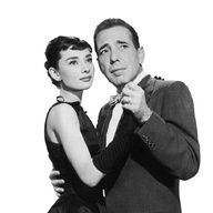 American actor Humphrey Bogart and Belgian-born actor Audrey Hepburn - 1993 dance together in a promotional portrait from director Billy Wilder's film, 'Sabrina'. Hepburn wears a black gown and. Get premium, high resolution news photos at Getty Images Sabrina Audrey Hepburn, Style Audrey Hepburn, Audrey Hepburn Photos, Humphrey Bogart, Old Hollywood Movies, Classic Hollywood, Hollywood Glamour, Vintage Hollywood, Le Couple Parfait