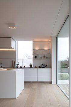 Modern Kitchen Design : Idee strakke keuken amzn.to/2keVOw4