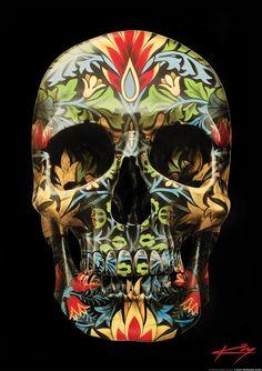 skull art prints (2)