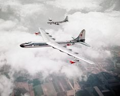 Convair NB-36H Peacemaker -  with Boeing    B-50 Superfortress