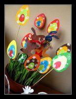 NÁVODY AKTIVITY S DĚTMI Crafts For Kids, Arts And Crafts, Spring Crafts, Easter, Children, Crafts For Children, Young Children, Boys, Kids Arts And Crafts
