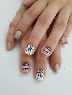 These nails are incredible Shellac Nails, Manicure And Pedicure, Toe Nails, Cute Acrylic Nails, Acrylic Nail Designs, Indian Nails, Airbrush Nails, Romantic Nails, Square Nail Designs