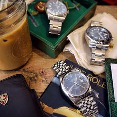 Coffee break: Rolex Explorer I, GMT Master-II, Datejust I 16234