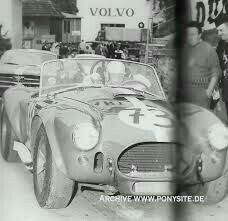 Classic Car News Pics And Videos From Around The World Ac Cobra, Ken Miles, Shelby Car, Racing Team, Auto Racing, Carroll Shelby, Race Cars, Sport Cars, Volvo