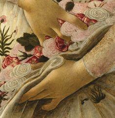 Сандро Боттичелли Весна, 1482   фрагмент