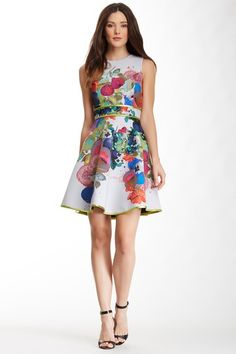 Cynthia Rowley Bonded Full Skirt Dress by Cynthia Rowley on @HauteLook